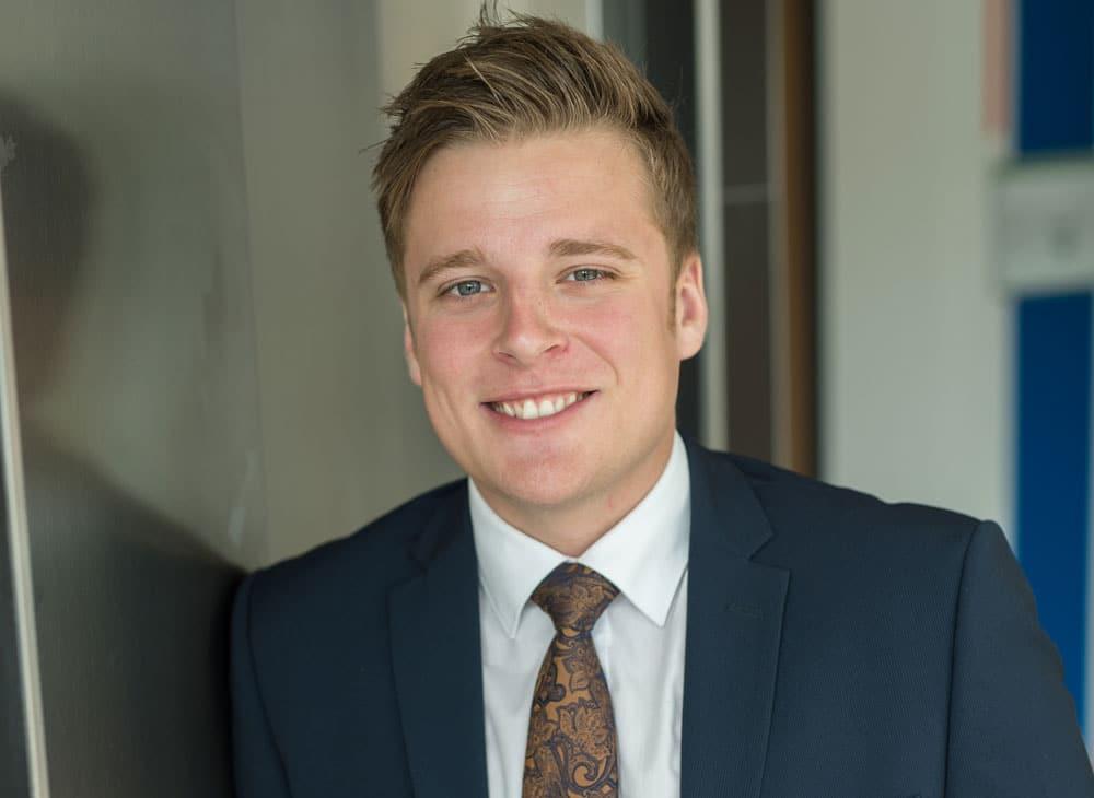 Ole: Wird Bankkaufmann bei der Schleswiger Volksbank