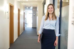 Ayleen: Wird Bankkauffrau bei der Schleswiger Volksbank