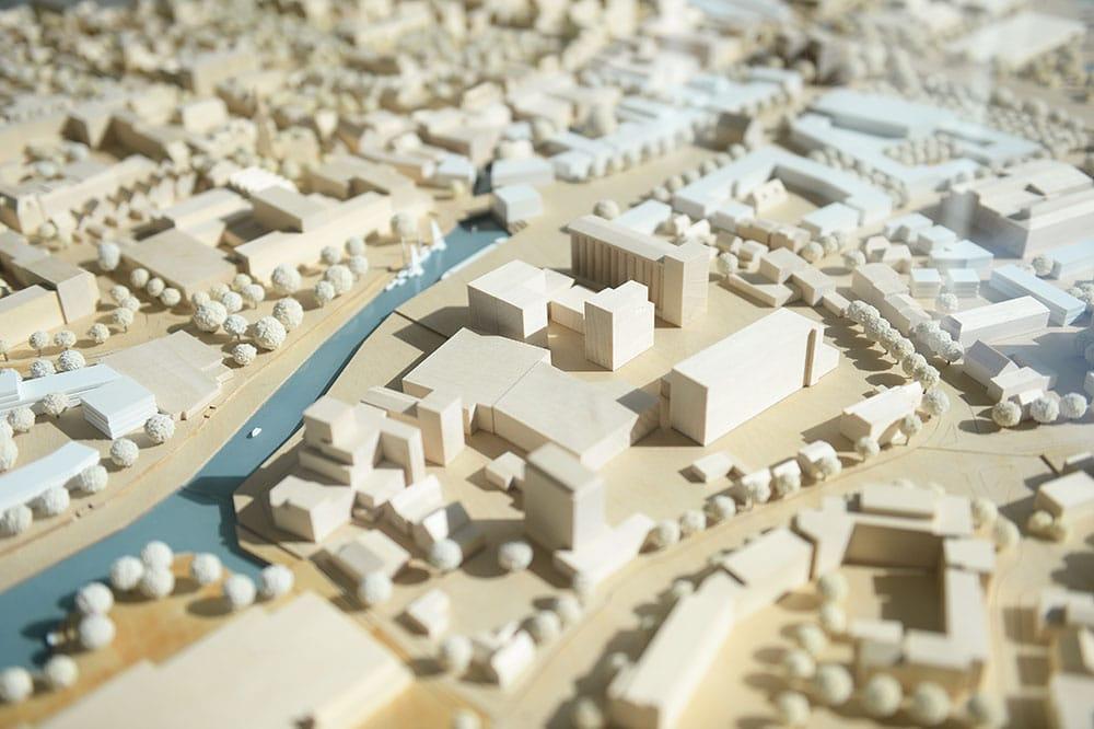 Modell der Stadt Elmshorn