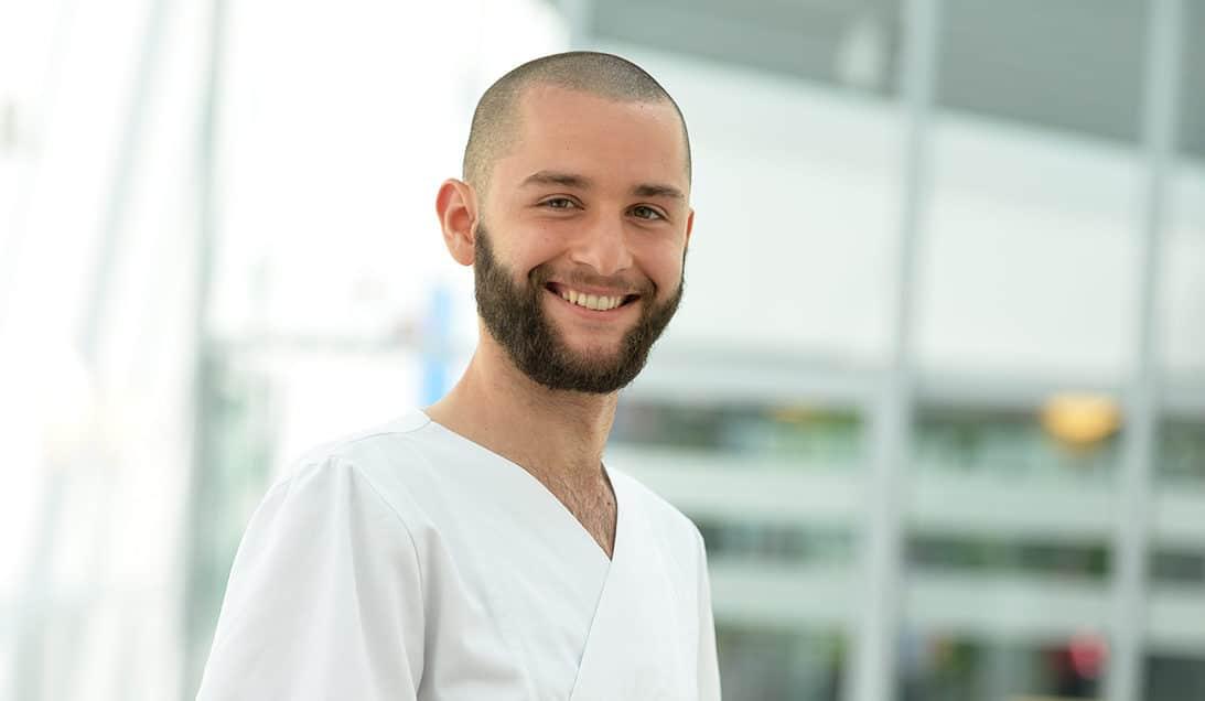 Lauritz: Wird Gesundheits- und Krankenpfleger am Städtischen Krankenhaus Kiel