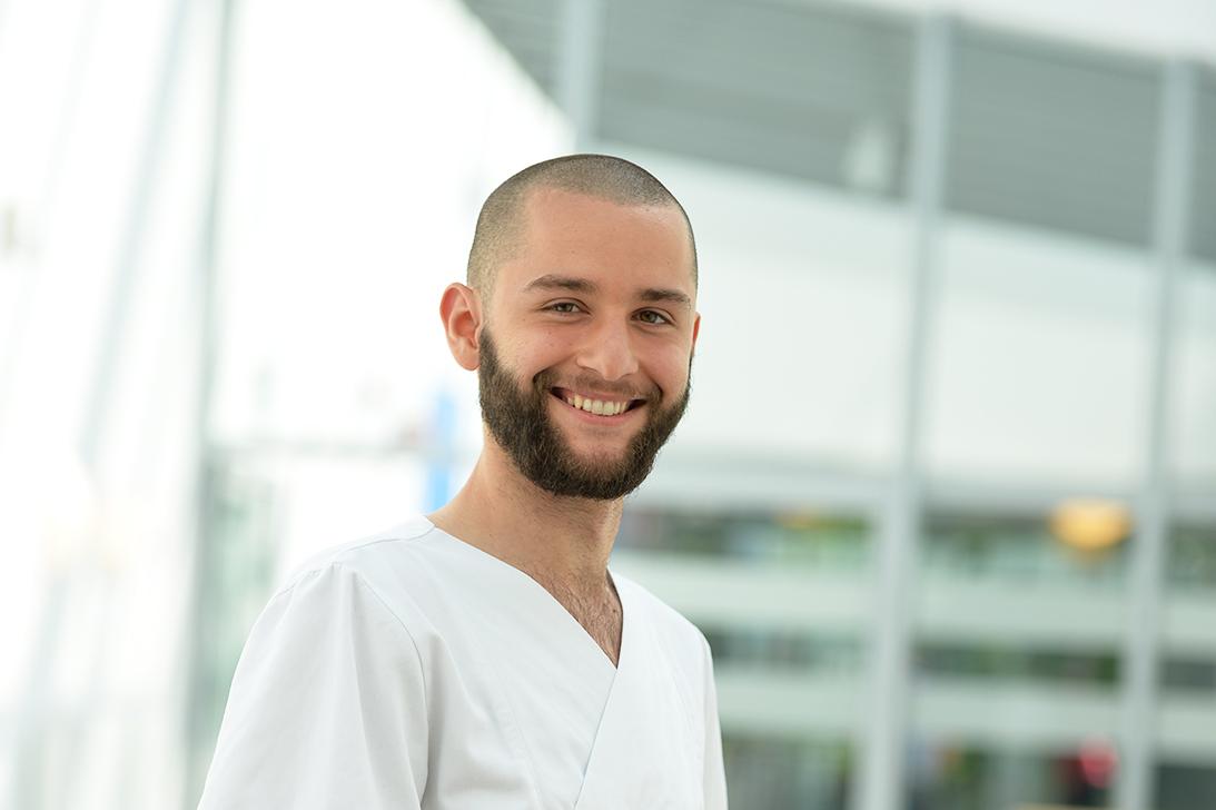 Lauritz: Wird Gesundheits- und Krankenpfleger am Bildungszentrum des Städtischen Krankenhauses Kiel
