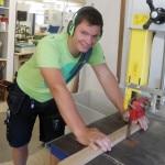 Jan Christopher: wird Tischler bei der Tischlerei Mau