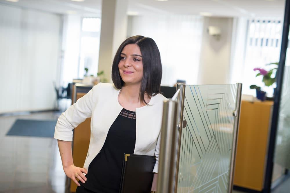 Irem: Ausbildung zur Bankkauffrau bei der Schleswiger Volksbank
