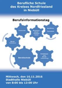 Flyer Berufsinformationstag Niebüll