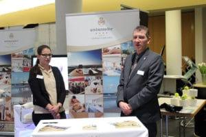 Eric Jansen und Alessia Mezzadonna vom Hotel Ambassador & Spa
