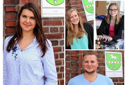 Meldorf: Die Azubis vom Bürgermeister
