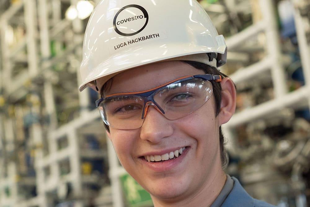 Luca: Wird Chemikant bei der Covestro AG