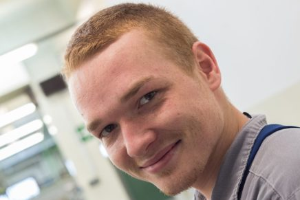 Alexander: Wird Industriemechaniker bei der Covestro AG