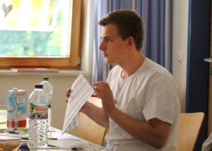 Jonas Vollert, Auszubildender beim WKK