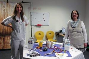Westküsten Klinikum auf der Jobmesse in Tellingstedt