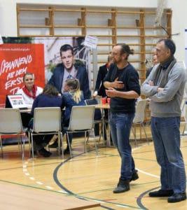 Benjamin Mommsen, Organisator der Berufswahlmesse