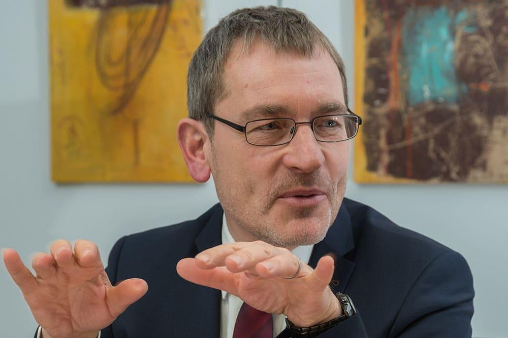 ME2BE im Gespräch mit Herrn Dr. Klimant
