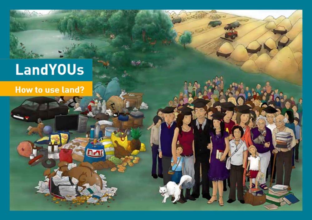 Eine Grafik des Online-Spiels LandYOUs