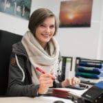 Natalie: Wird Industriekauffrau bei TOTAL Bitumen