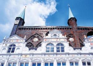 Das Rathaus zu Luebeck