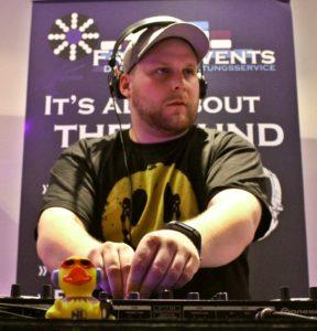 DJ-Musik Nacht der Bewerber