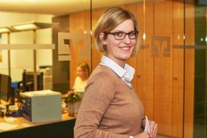 Fabia: Wird Bankkauffrau bei der VR Bank Flensburg-Schleswig eG
