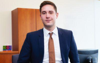 Björn Daumann von der VR Bank Flensburg-Schleswig eG