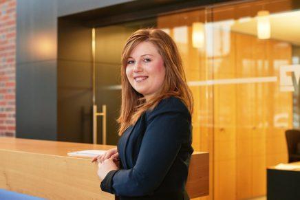 Sandra: Bankkauffrau bei der VR Bank Flensburg-Schleswig eG