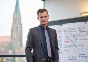 Stephan: Bankkaufmann bei der VR Bank Flensburg-Schleswig eG