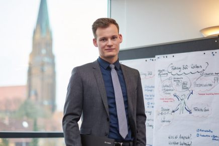 Fabian: Bankkaufmann bei der VR Bank Flensburg-Schleswig eG