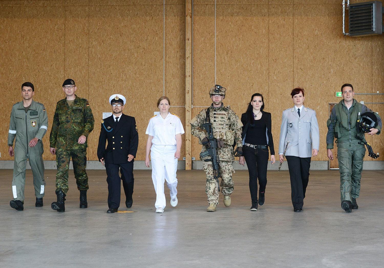 Karriere bei der Bundeswehr