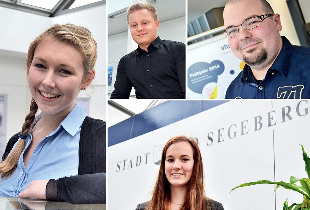 Bad Segeberg: Die Azubis vom Bürgermeister