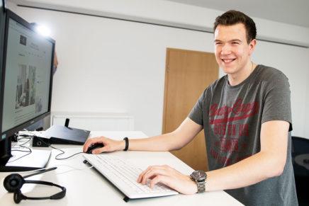 Lennart: Wirtschaftsinformatik bei der PPI AG in Kiel/ Wirtschaftsakademie Kiel