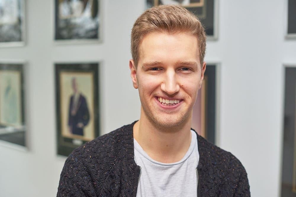 Rasmus: Wird Verwaltungsfachangestellter bei der Stadtverwaltung Elmshorn
