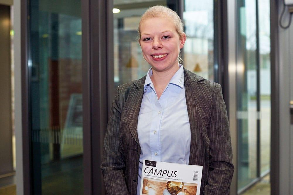 Lisa Marie: Betriebswirtschaftslehre an der Fachhochschule Kiel