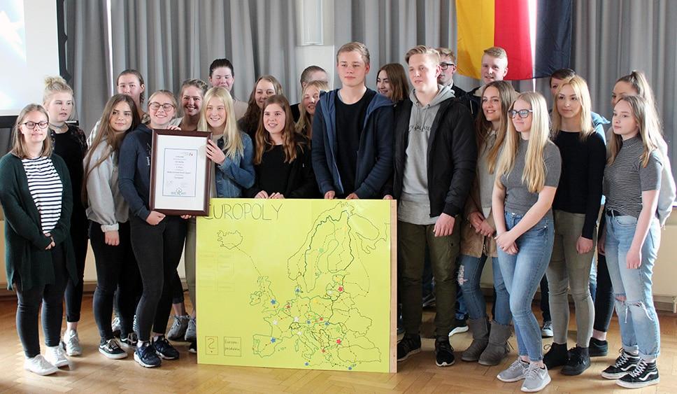 "10 Jahre Europaschule Husum – ""Make Europe great again"""