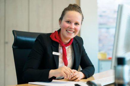 Jana: Wird Bankkauffrau bei der Förde Sparkasse