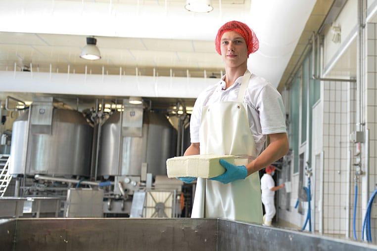 Philipp: Wird Milchtechnologe in der Käserei Holtsee