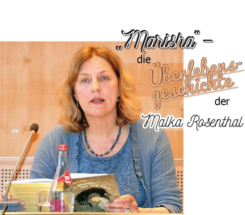 """""""Marisha"""" – die Überlebensgeschichte der Malka Rosenthal"""