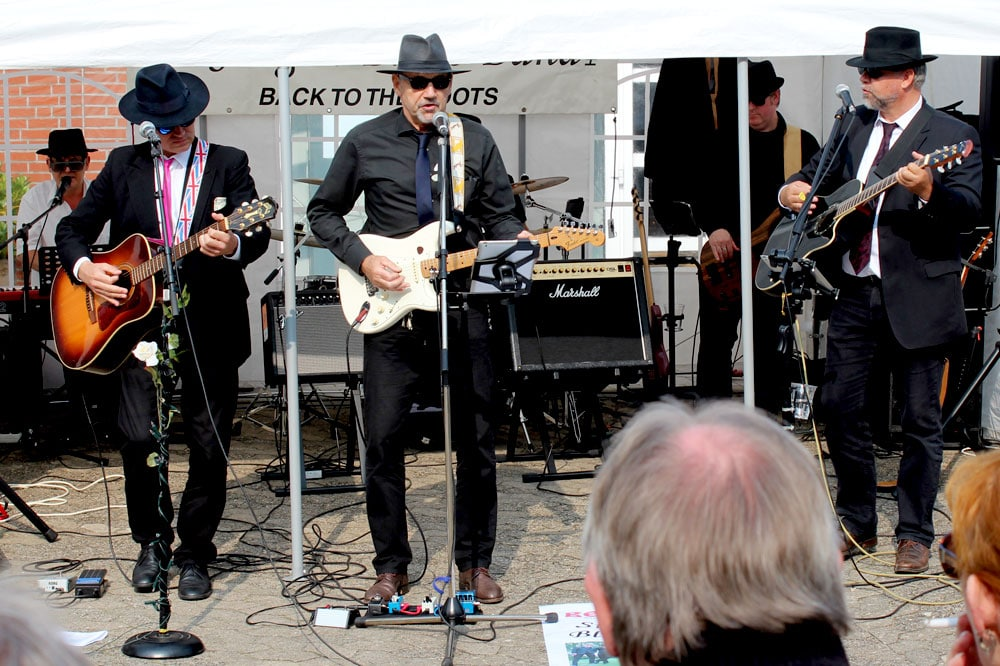 Die St. Jürgen Blues Band in Aktion