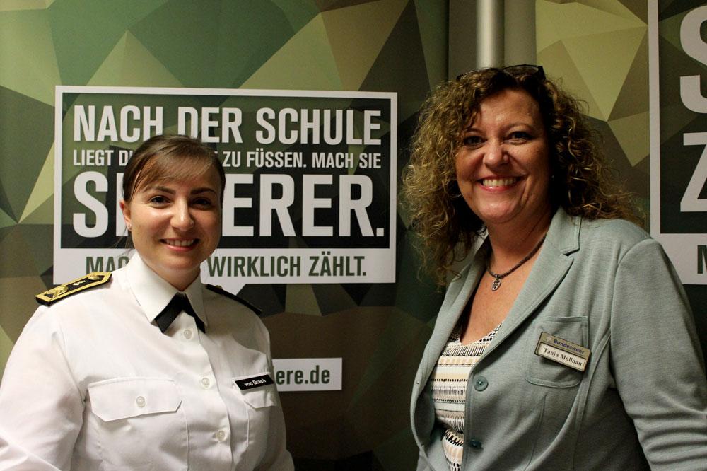 Patricia von Drach und Tanja Mollnau