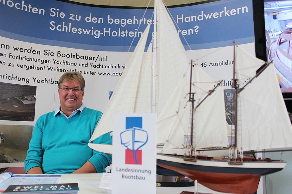 Geschäftsführer der Landesinnung des Boots- und Schiffsbauer Handwerks S-H, Ralf Petersen