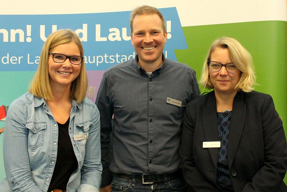 Wienke Steffen, Kai Schlotfeldt und Stefani Müller