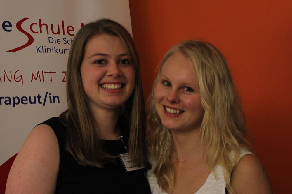 Portrait von Telse Jensen und Jenny Sievers