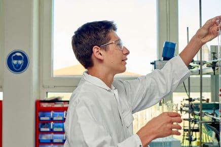 Leon: Wird Chemielaborant bei der Sasol Germany GmbH in Brunsbüttel