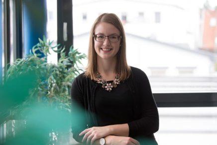 Nina: Wird Bankkauffrau bei der Schleswiger Volksbank eG