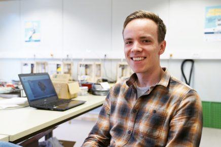 Christopher Koop: Maschinenbau an der Hochschule Flensburg