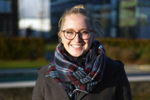 Katharina: Hebammenwissenschaft an der Universität Lübeck