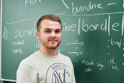 Bjarne: Bildungswissenschaften an der Europa-Universität Flensburg