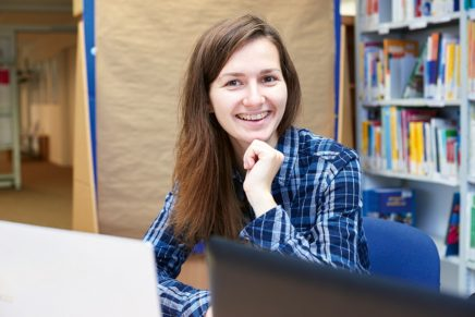 Vladyslava: Kultur – Sprache – Medien an der Europa-Universität Flensburg