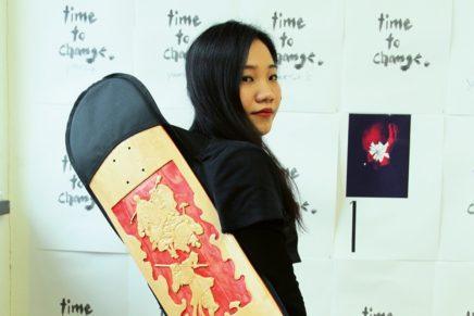 Xie Fan kreiert eine neue Skateboard-Marke