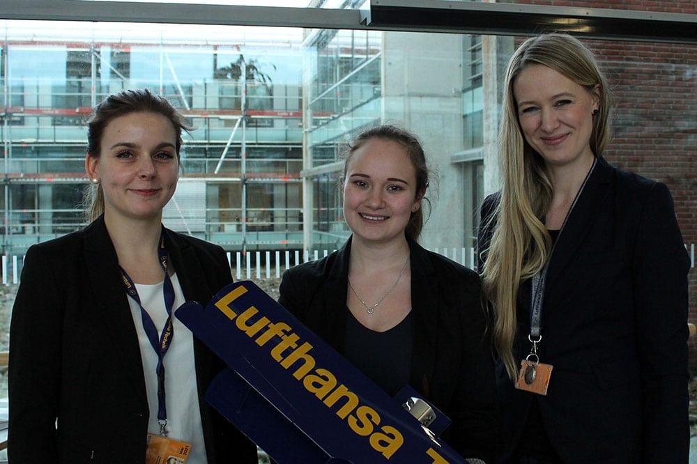 Das Team der Lufthansa Technik