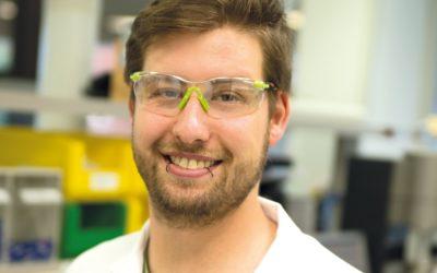 Jonas wird Chemielaborant bei der Ferring GmbH
