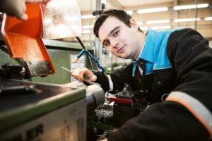 Fiete: Wird Industriemechaniker bei der Covestro AG in Brunsbüttel