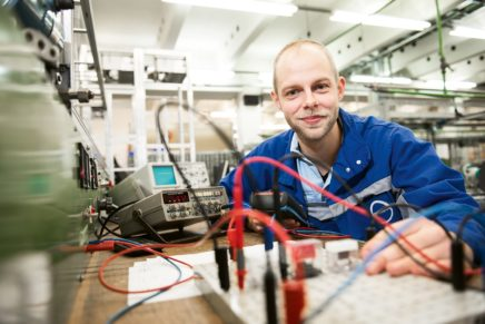 Hauke: Wird Elektroniker für Automatisierungstechnik bei der Covestro AG in Brunsbüttel